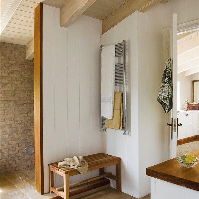 Gran formato. | Remodelación de baños, Baño rústico ...