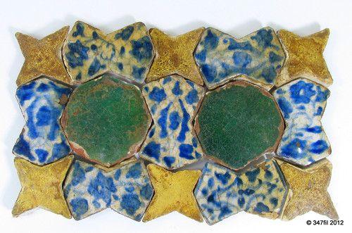ILKHANID or TIMURID Central Asian Tiles
