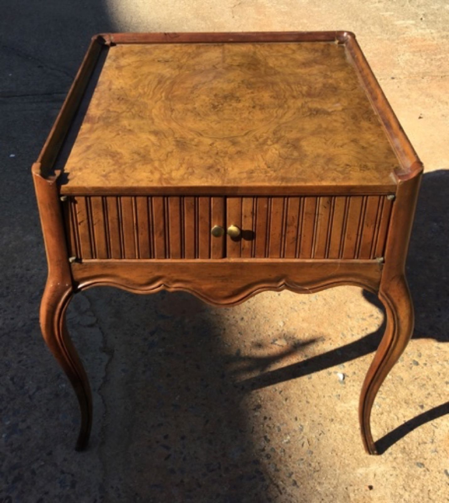 Details about Quality Vintage Baker Furniture Small End Table with