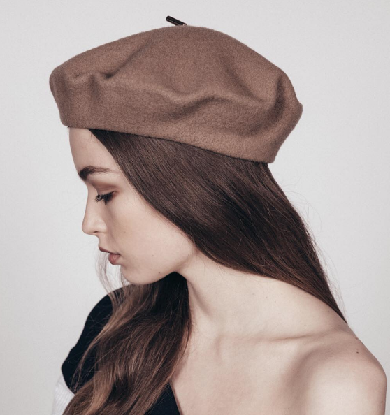 French Beret Via Jannessaleone Hats For Women Beret French Beret