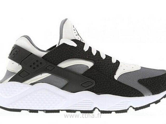 Nike Air Huarache Homme Blanc  Pure  Noir   Pure  Platinum Nike Huarache 7f391d