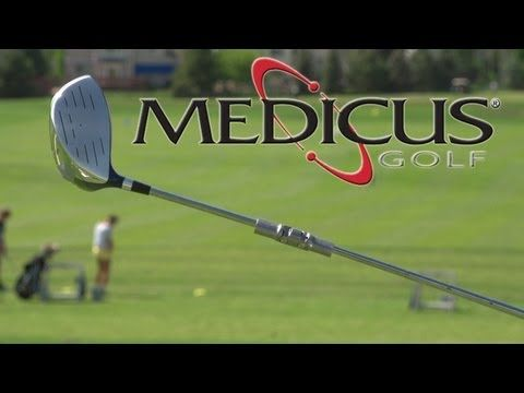Get The Low Down On The Most Hyped Golf Swing Trainer Of All Time Discover Why The Medicus Dual Hinge Driver May Not Be Ri With Images Golf Golf Swing Golf