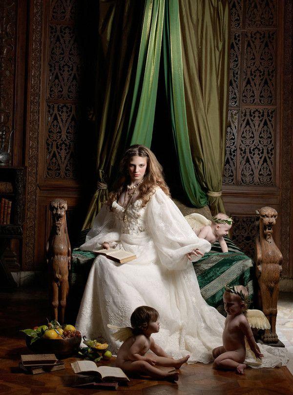 Renaissance by Caroline Knopf, via Behance | Fashion Photography ...