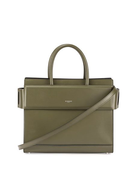 GIVENCHY Horizon Small Leather Tote Bag, Army Green.  givenchy  bags  shoulder  bags  hand bags  leather  tote   dd1b0bb99b