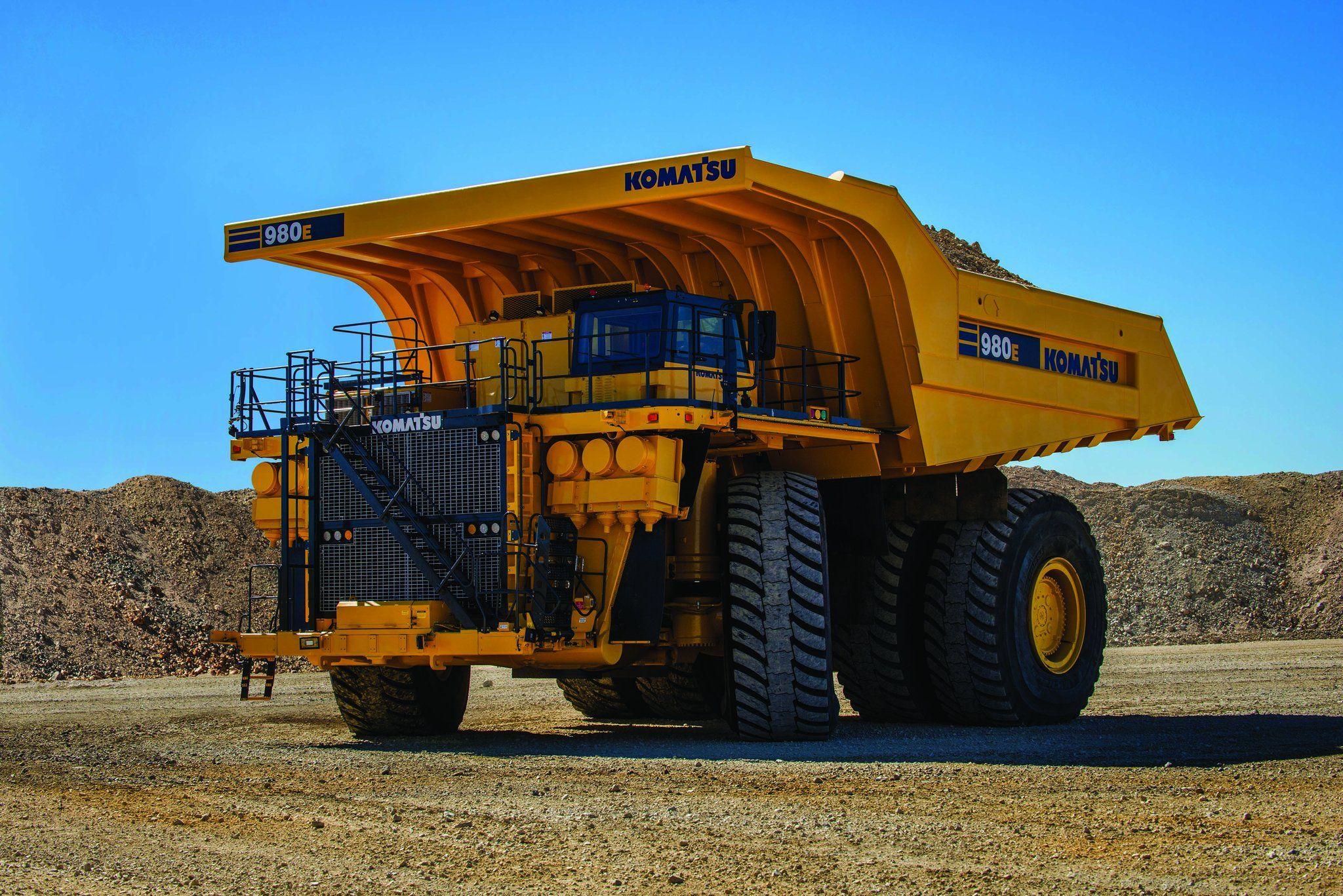 Komatsu 3500 Hp 400 Ton Payload 980e 4 Mining Electric Haul Truck