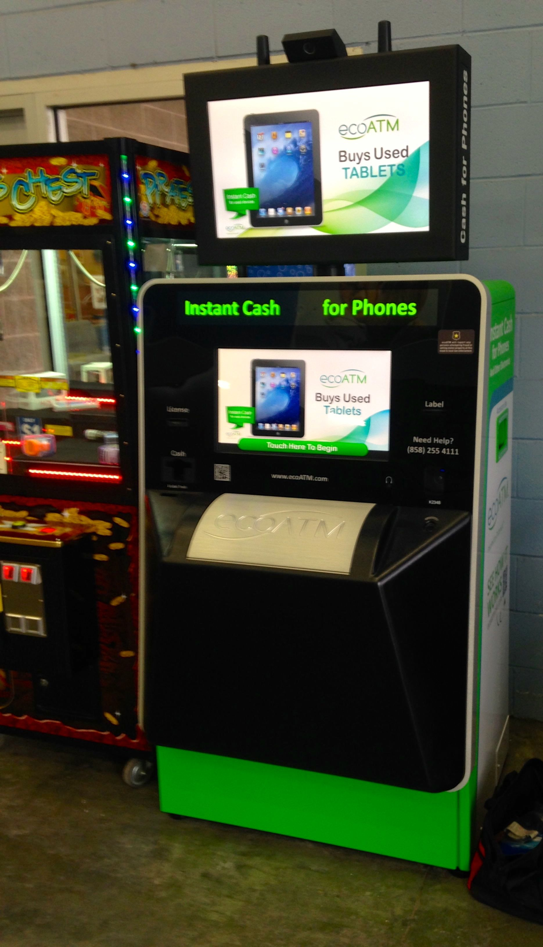 This ecoATM kiosk can be found in Shelbyville, Indiana! Click the