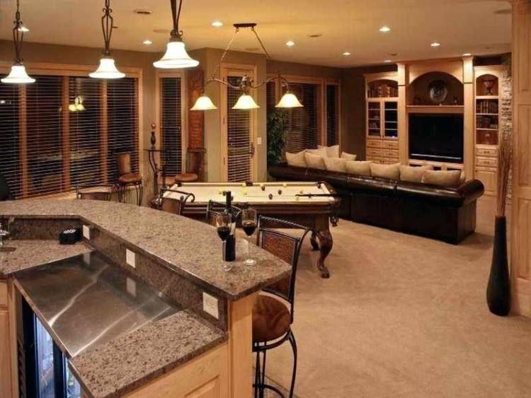 Sports Basement Ideas Bars for home, Basement remodeling