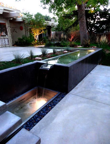 Custom Water Features Add Not Only Sound But Add Movement And Energy To The  Landscape.
