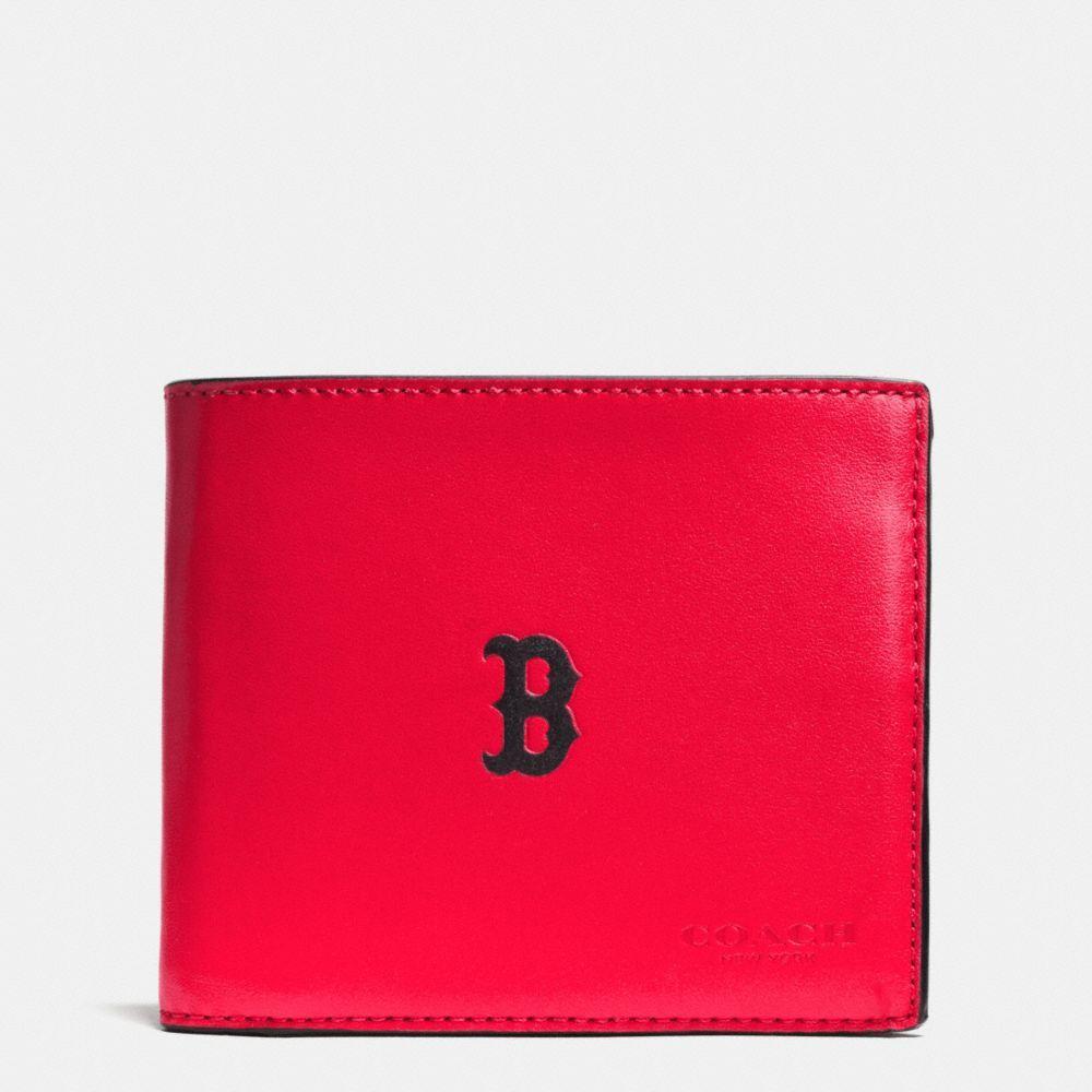 74e5fa27b0 COACH Mlb Compact Id Wallet In Sport Calf Leather. #coach #bags ...