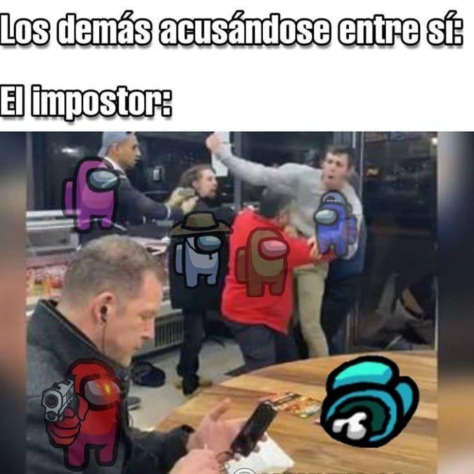 4 671 Me Gusta 78 Comentarios Among Us Memes Espanol Among Us Platon En Instagram Di Hola Si Nadie Te Responde G Memes Divertidos Memes Memes Graciosos