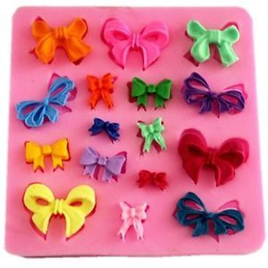 Bow Silicone Mould