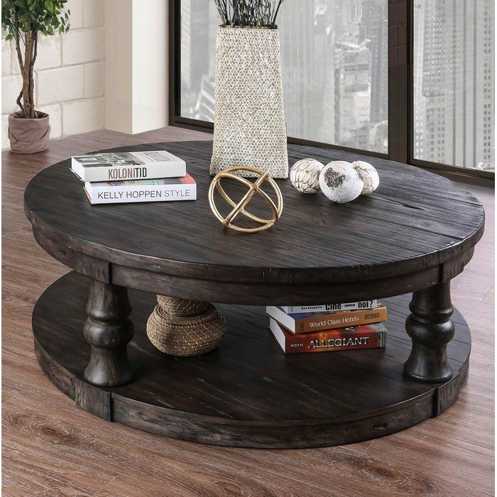 Amstel Floor Shelf Coffee Table with Storage Decorating