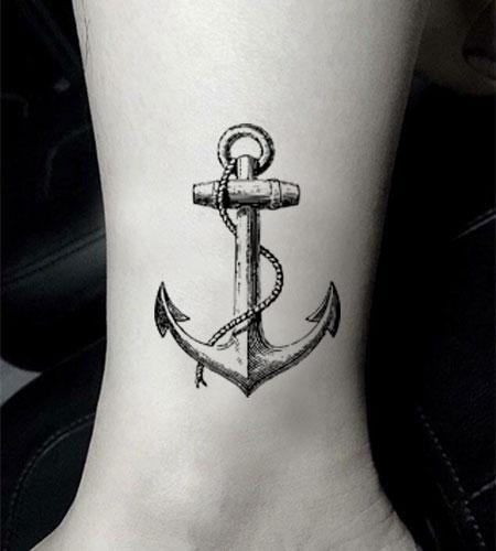 Anker mit Seil – Dann & Wann – Tattooart, Temporär Tattoo, Armtattoo, Rückentattoo, Tattoo auf Zeit, Tattoo Temporary, Tattoo Frauen, Tattoo Mann,…