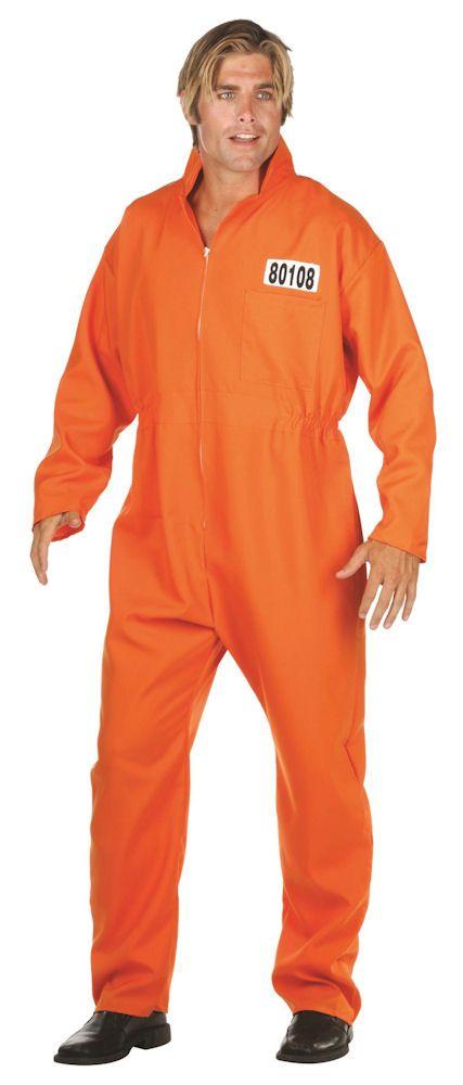 Escaped Convict Orange Jumpsuit | Men's Costumes | Pinterest ...