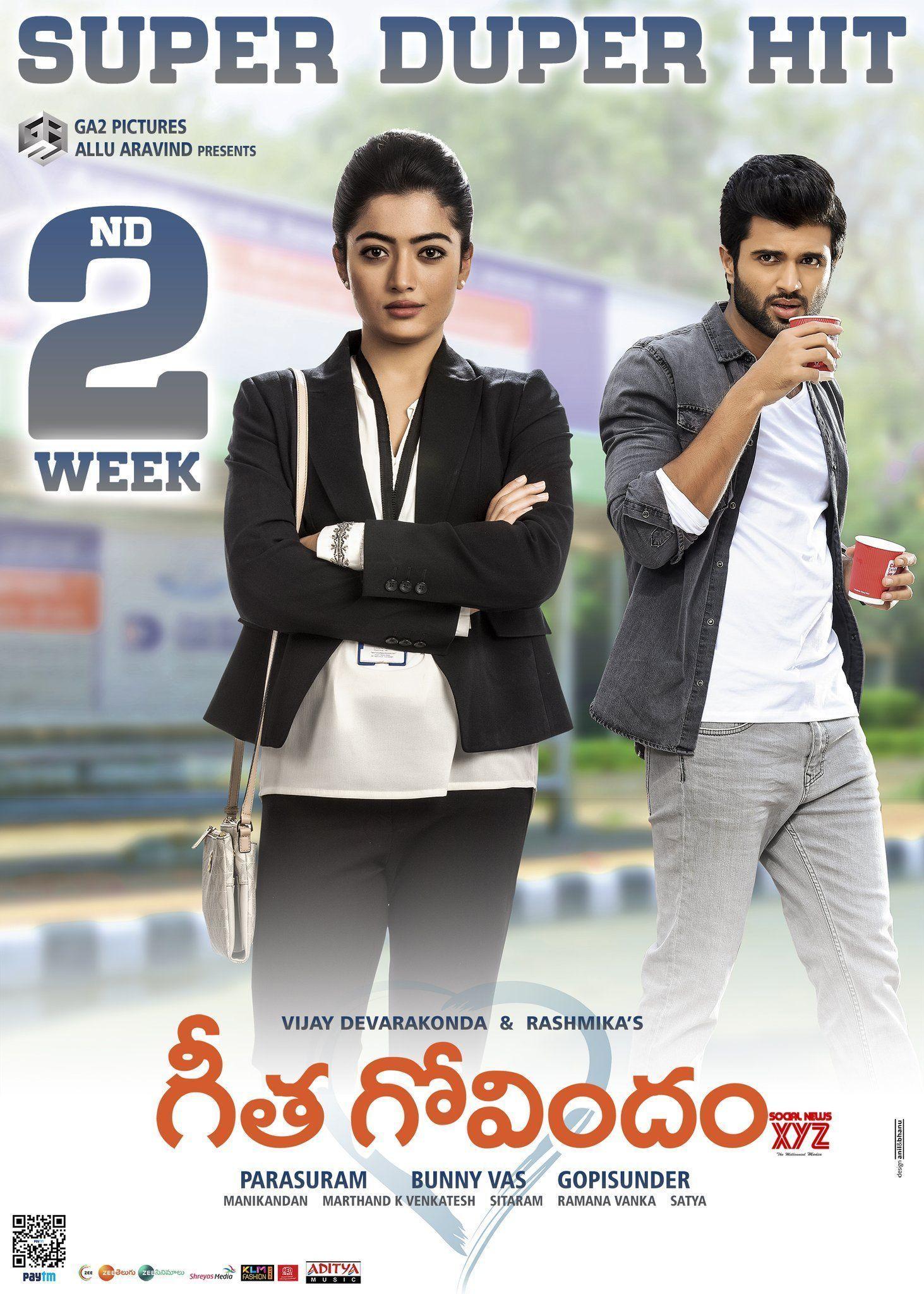 Geetha Govindam Movie 2nd Week Posters Full Movies Online Free