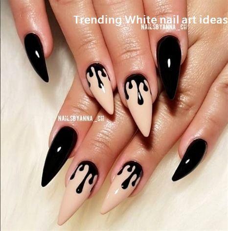 Über 30 einfache und trendige Ideen für das weiße Nageldesign #nails – White Nails