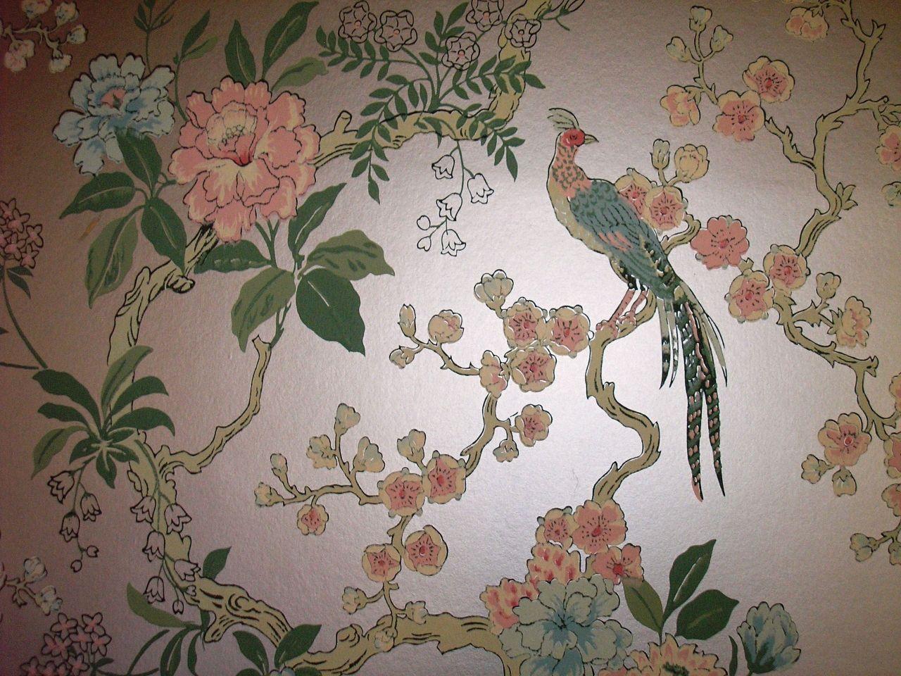 Best Pretty Room Wallpaper Images On Pinterest Vintage