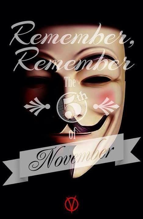 Pin By Brian On Anonymous V For Vendetta Vendetta The 5th Of November