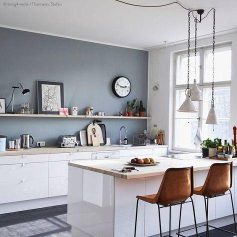 denim drift in het interieur new kitchen pinterest decoration cuisine appartements et. Black Bedroom Furniture Sets. Home Design Ideas