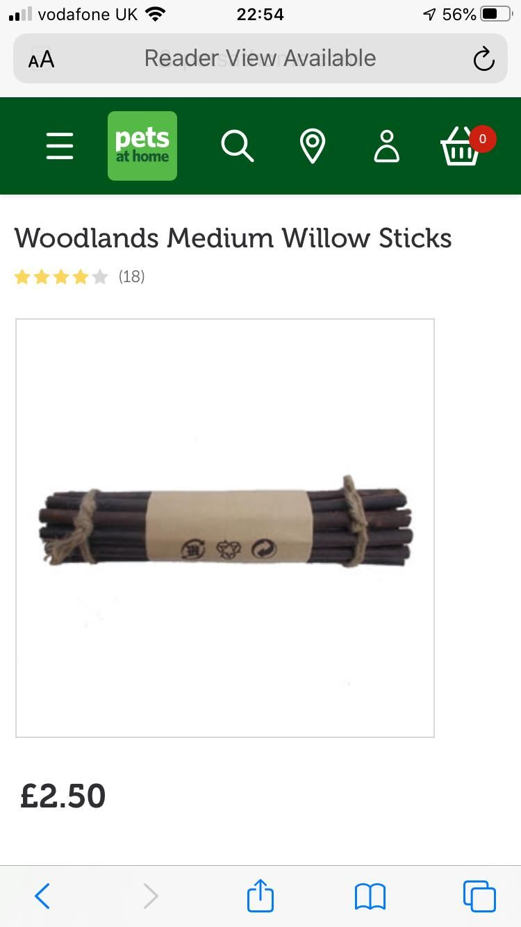 Pin By Jen Copestake On Pressie Ideas For Molly In 2020 Willow Sticks Animal House Woodlands