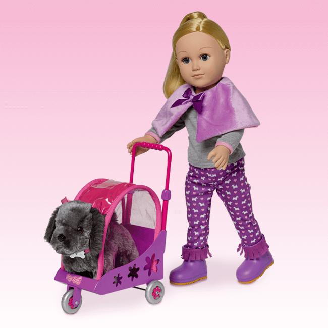 Pet Stroller 18 Inch Doll My Life As Walmart