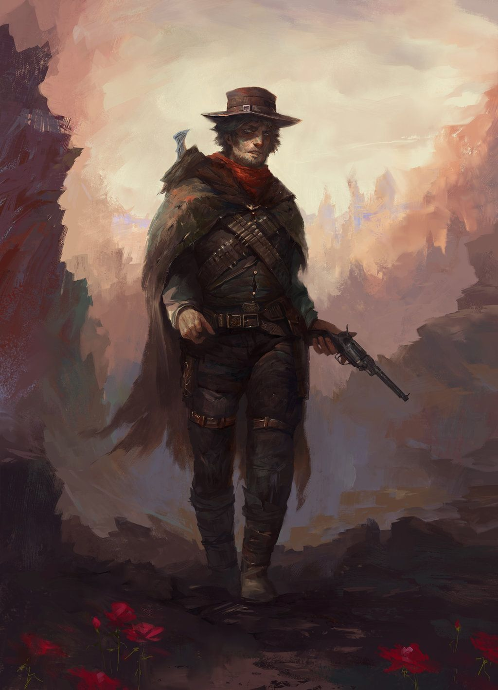Pin By Jacob Meredith On 500 Dark Tower Art West Art Concept Art Characters