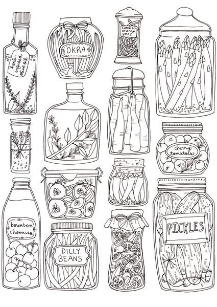 Pickles And Jars And Lots Of Stars Wait Where Are The Stars I Was Just Trying To Make It Rhyme Prints Illustration Art Prints