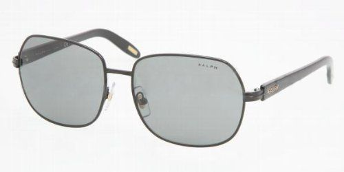 Ralph RA4074 Sunglasses (107/87) Black / Gray Lens 57 mm Ralph Lauren. $72.00