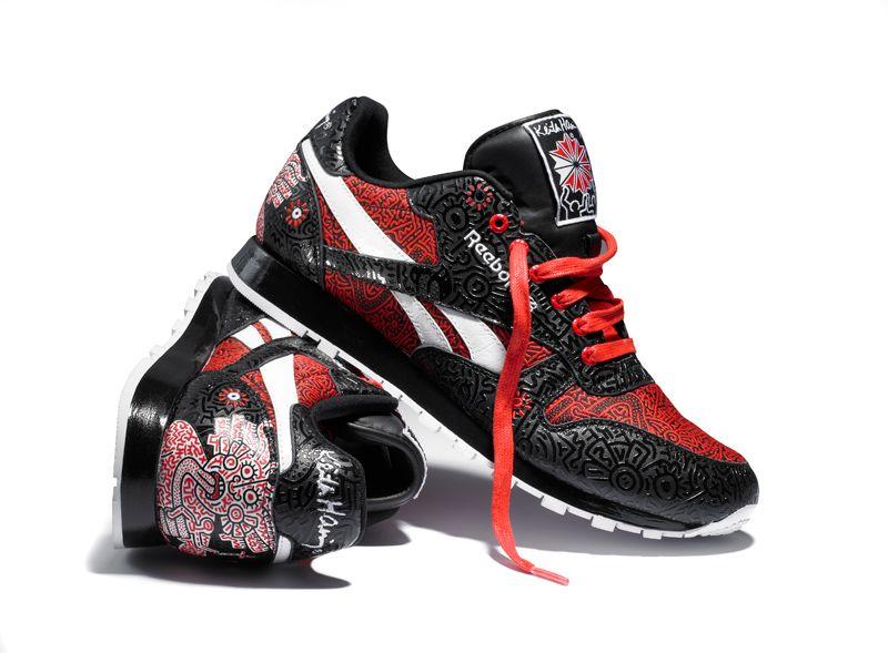 picar Tesoro Hora  Reebok por Keith Haring, un icono de los 80 en tus pies | Reebok classic,  Colorful sneakers, Sneaker magazine