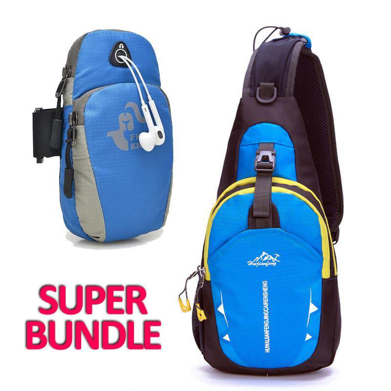 Runners Bundle Crossbody Shoulder Bag Arm For Your Phone