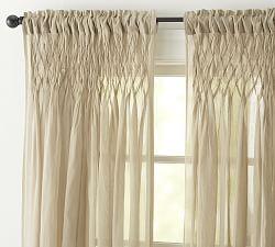 $41 Cotton Curtains, Cotton Drapes & Cotton Window Panels   Pottery Barn