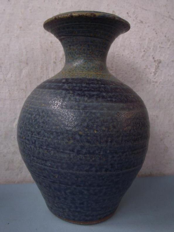 Scottish Stoneware Studio Pottery Baluster Vase Roundstone Ceramics Galway in Pottery, Porcelain & Glass, Pottery, Studio | eBay