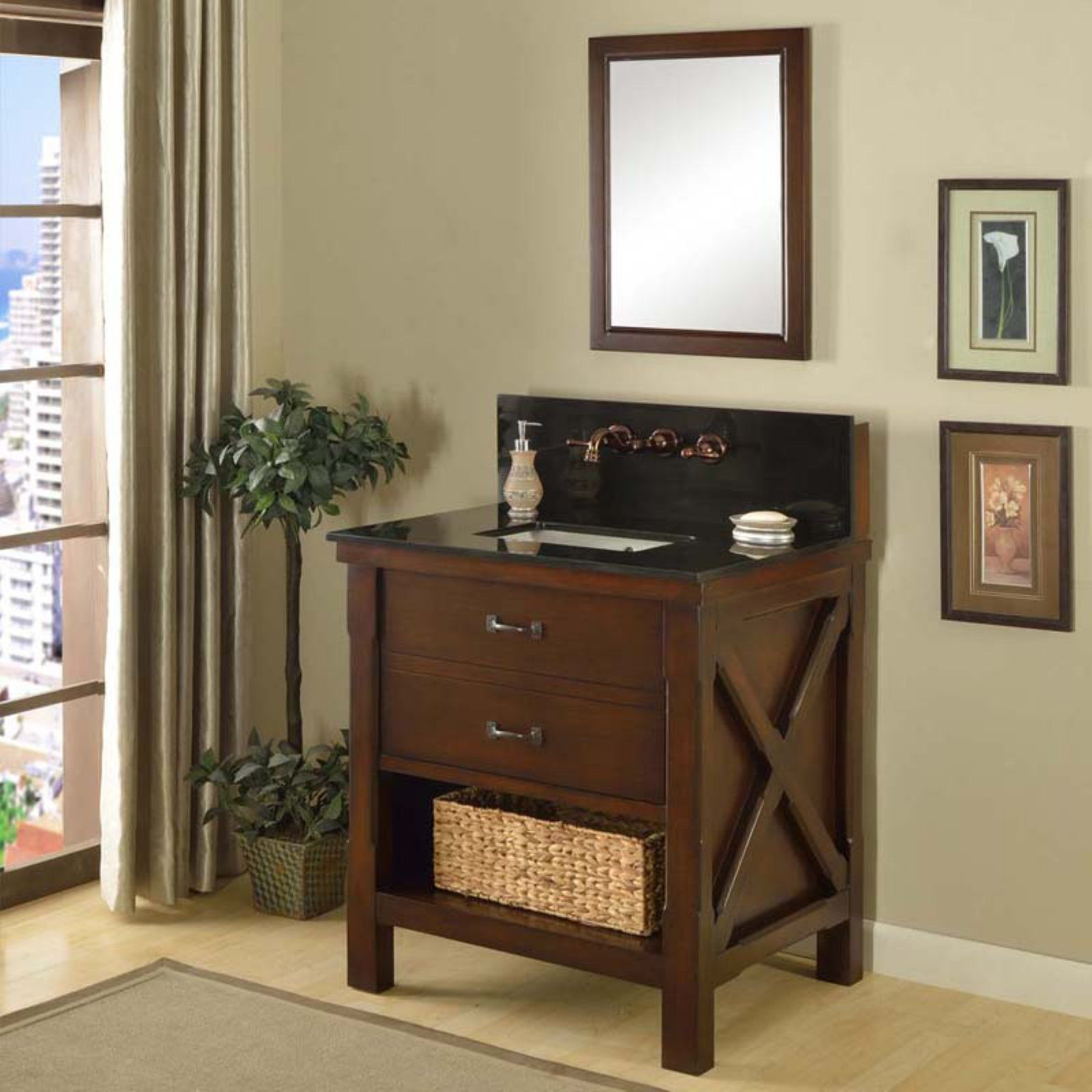 Direct Vanity Sink Xtraordinary Spa Premium 32s1 32 In Single
