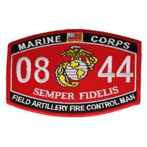 Usmc Mos 0844 Field Artillery Fire Control Man Patch Marine Corps Marine Usmc