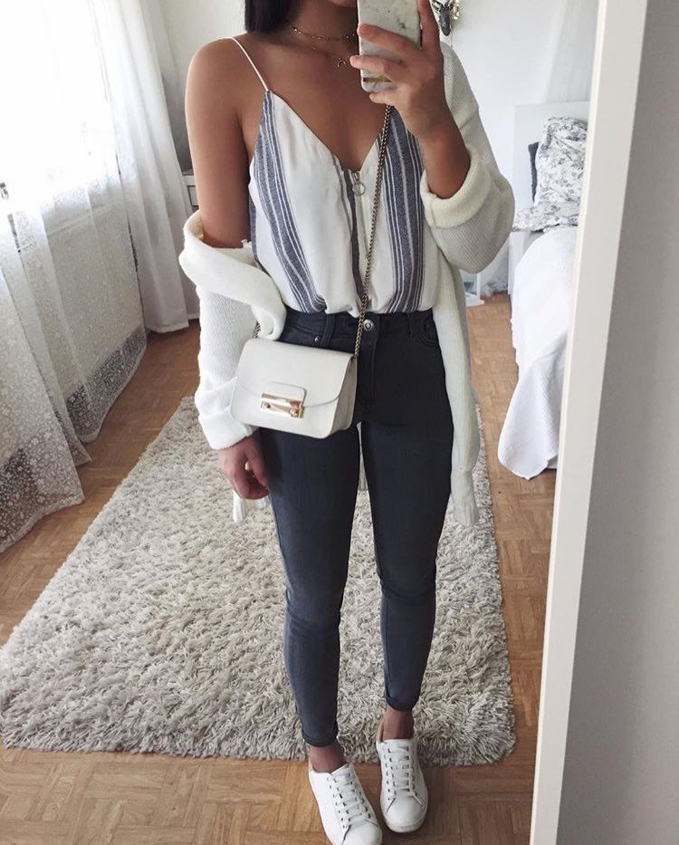 danniec123 casual clothes pinterest sommer outfits outfit ideen und outfit. Black Bedroom Furniture Sets. Home Design Ideas