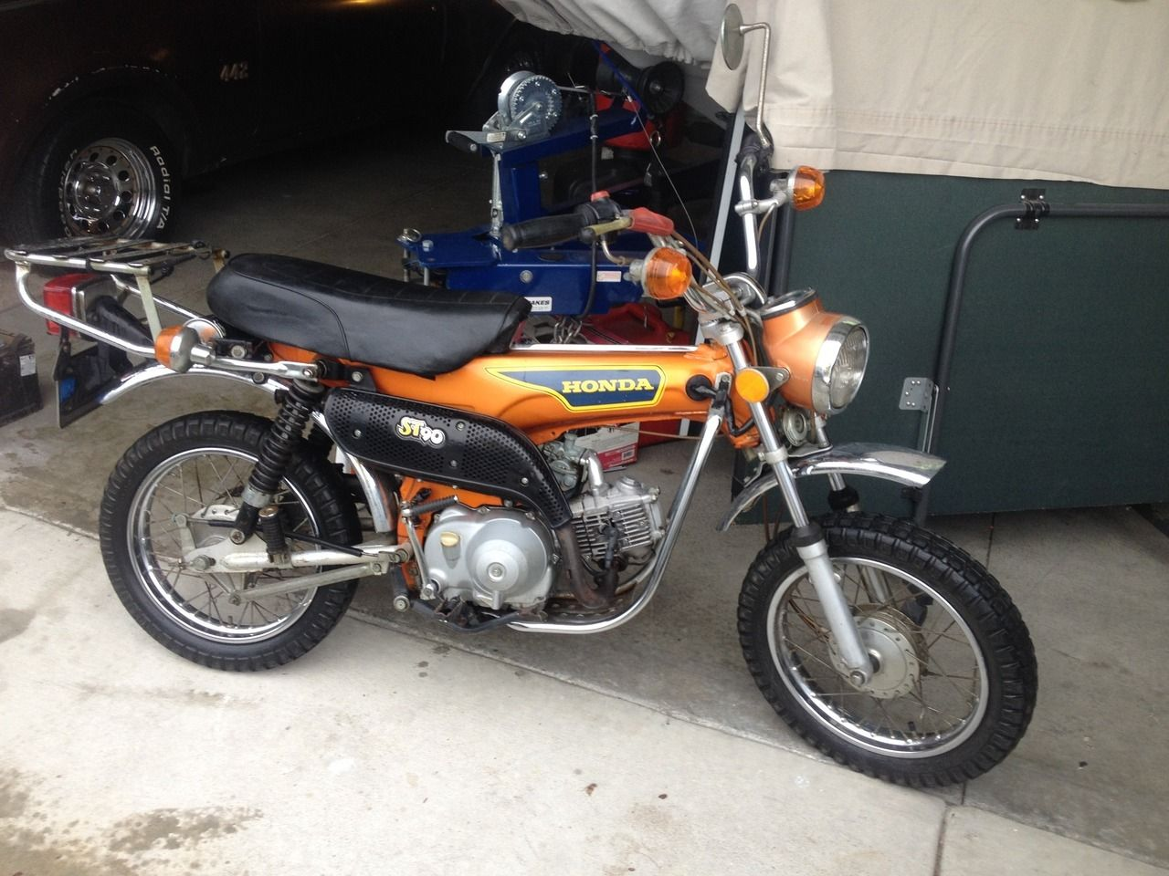 1975 honda ct90 wiring diagram aswc 1 st series 90 trail california other