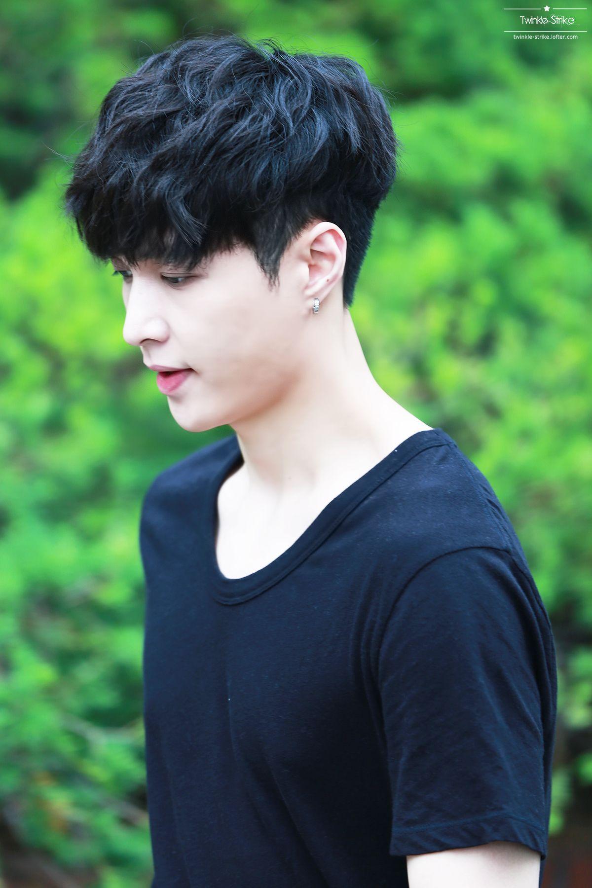 Men haircuts names korean haircut names   zhang yixing  pinterest  korean