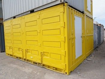 Side Opening Containers Providing Quick Easy Access To Cargo Containers For Sale Container House Container