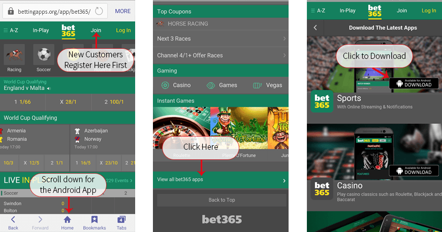 How to download the Bet365 Android App - Download & Install