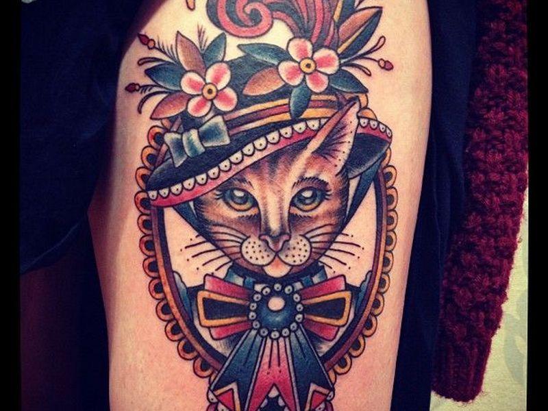 80 best cat tattoo designs meanings spiritual luck