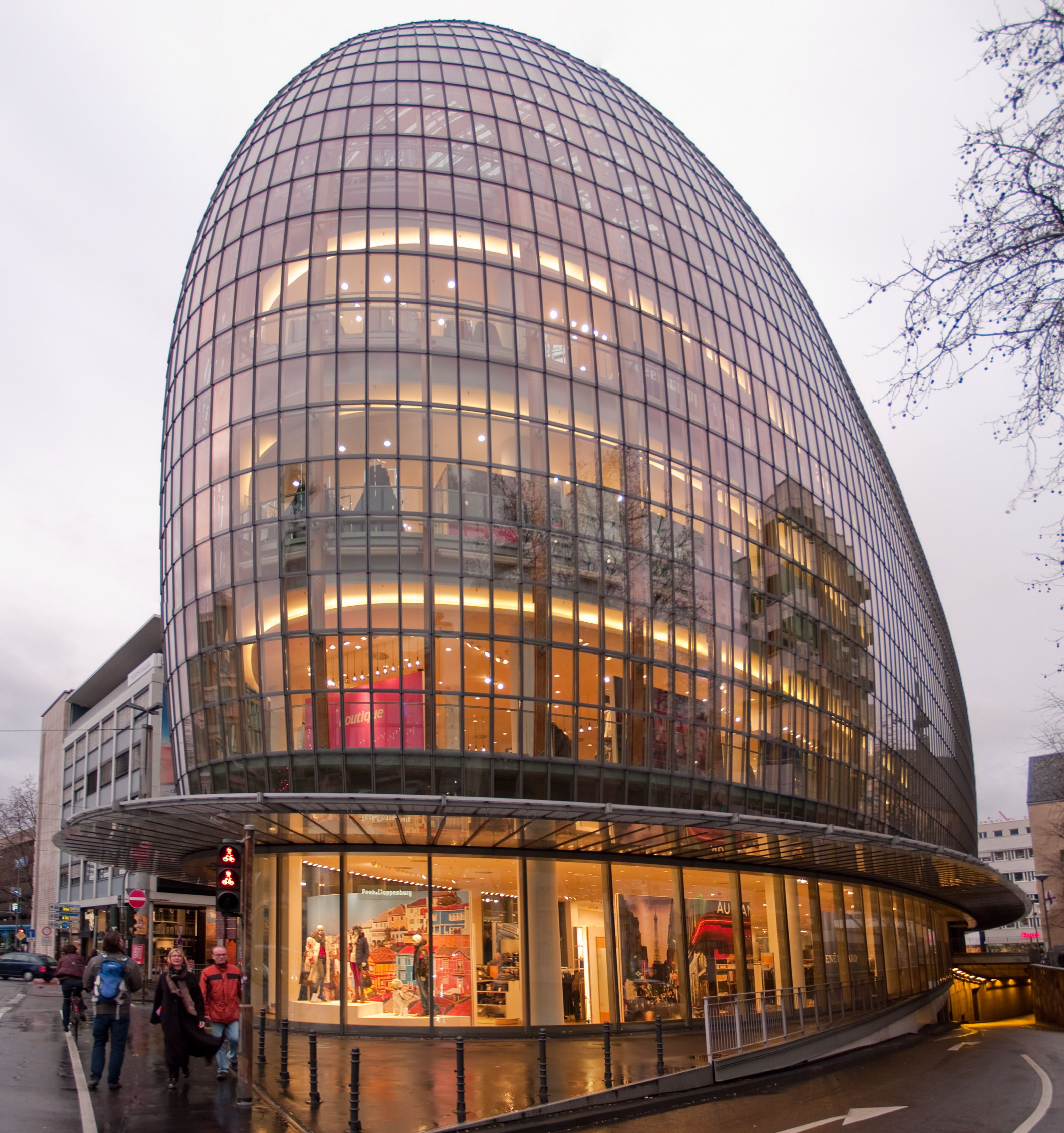 Peek & Cloppenburg Department Store, Cologne, Germany By