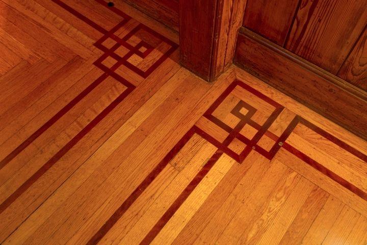 Julia Morgan Floor Border Craftsman House Craftsman Style Homes Craftsman Interior