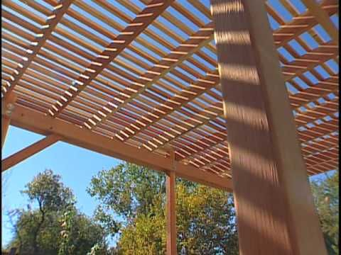 Free Pergola Plans | How to Build a Pergola