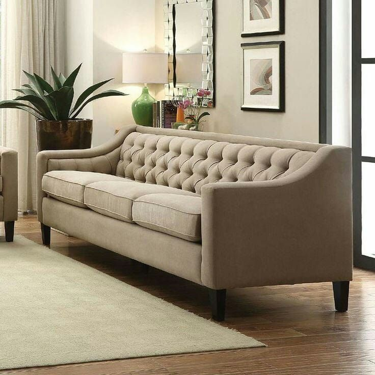 Upholstery Design Sofa Set With Suede Fabric In 2020 Living Room Sofa Design Modern Furniture Living Room Sofa Design