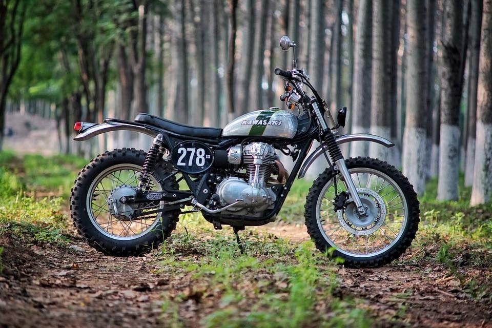 Kawasaki W800 Scrambler By Mandrill Garage Blog Bikes Scrambler