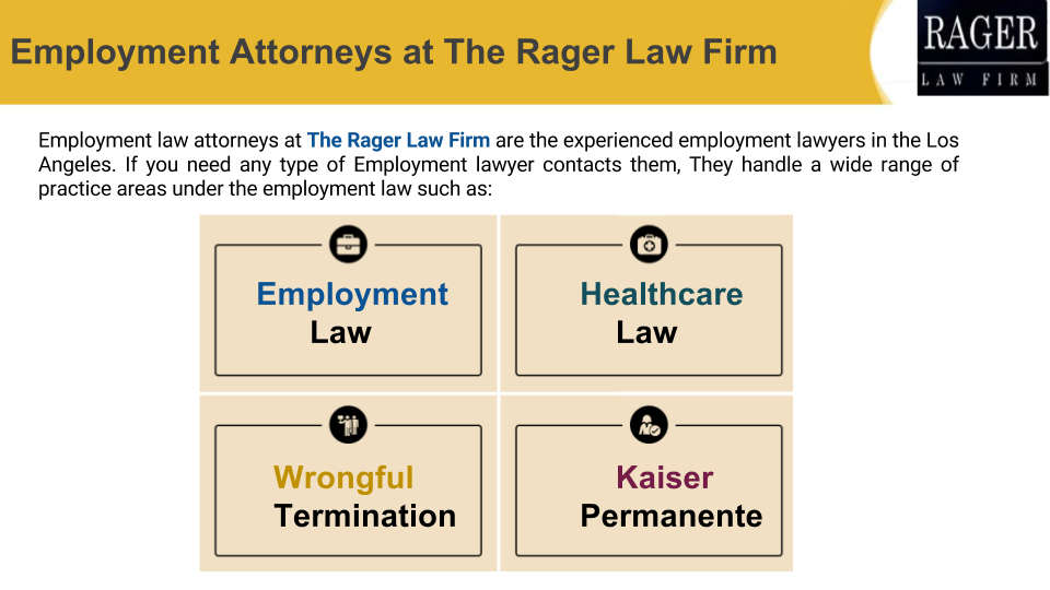 Los Angeles Employment Law Attorney Employment Attorney At Law