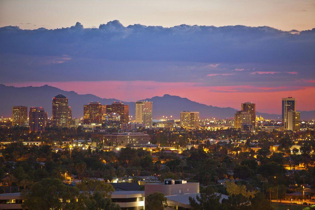 Midtown Phoenix Places I Ve Been Phoenix Skyline