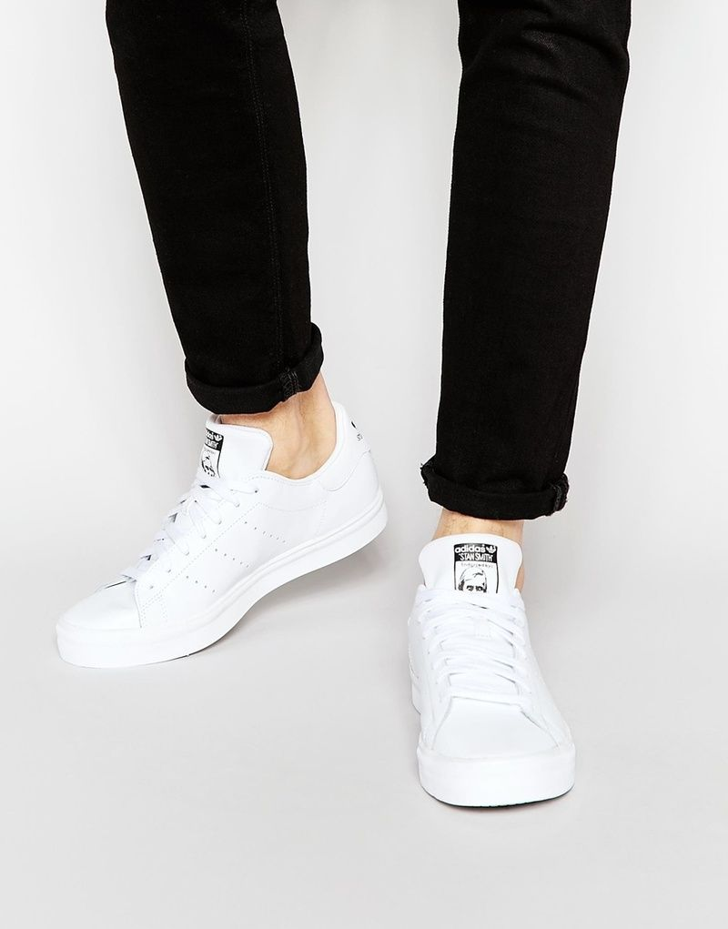 Adidas Originals Stan Smith Vulc Hommes Casual Sneakers