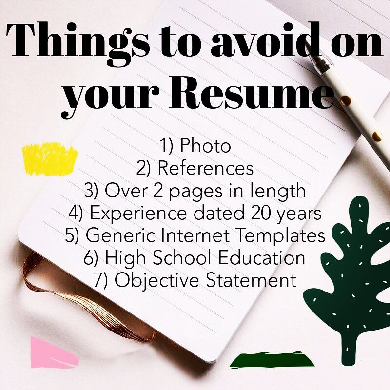Follow us and receive FREE Expert Resume Evaluation.