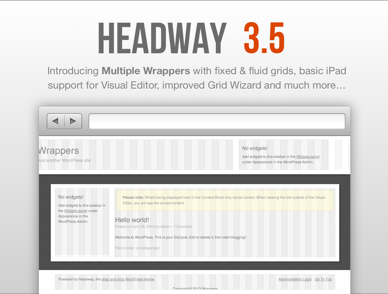 New Headway 3 5 Premium Wordpress Themes Wordpress Theme Wordpress